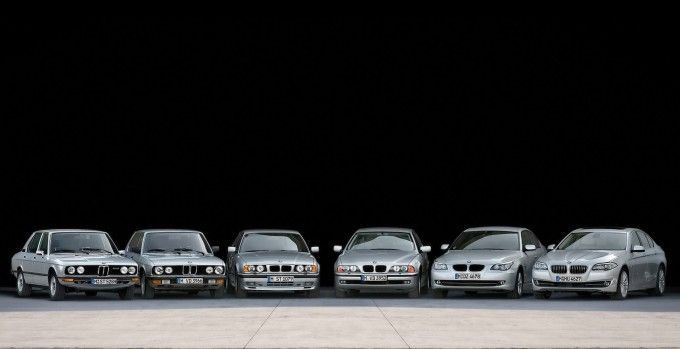 BMWs growing bigger through the years