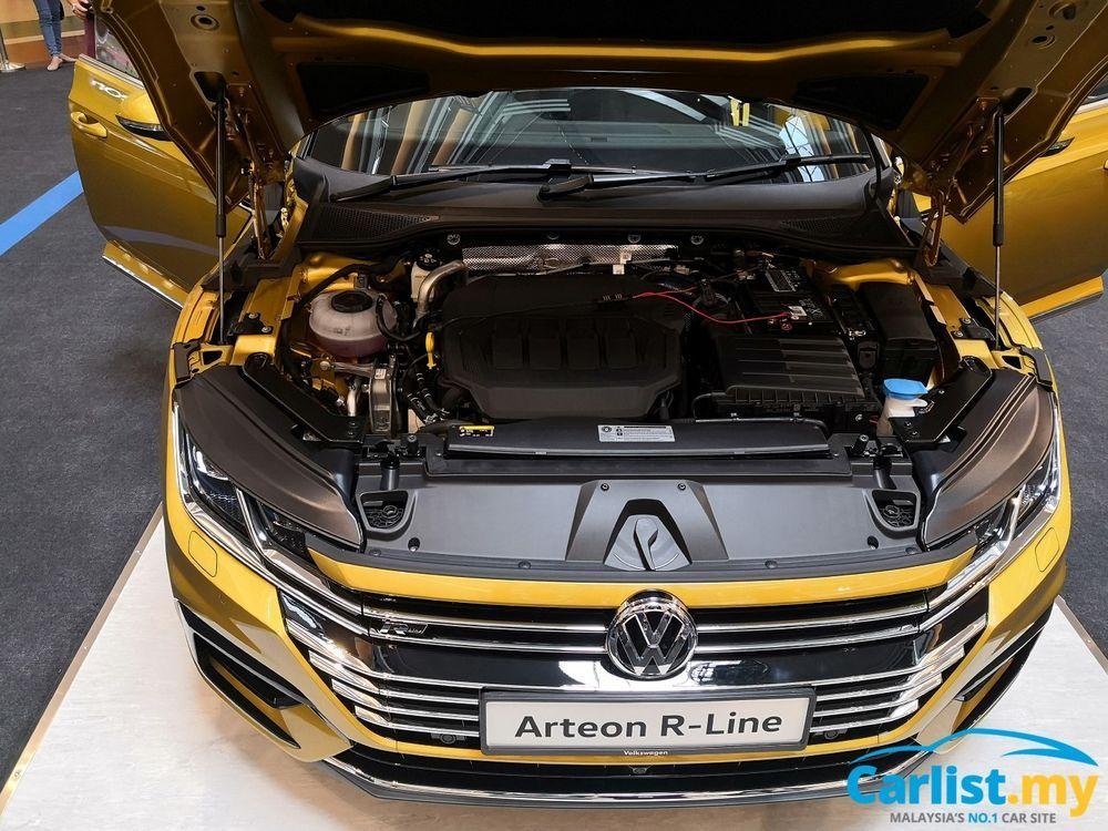 volkswagen arteon engine