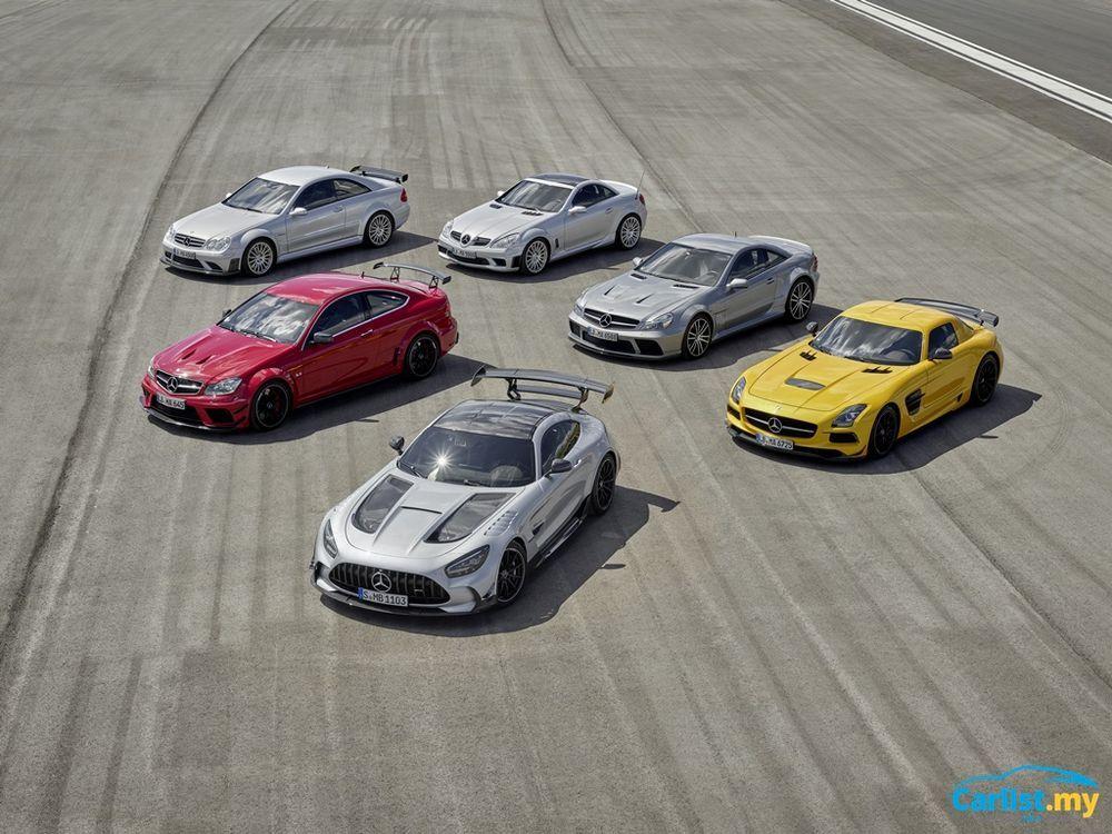C190 Mercedes-AMG GT Black Series Vehicles