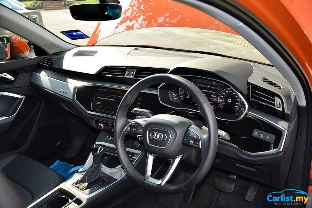 2020 Audi Q3 1.4L TFSI Interior