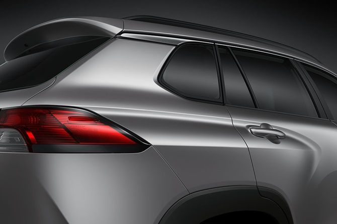 Toyota Corolla Cross Comes To Indonesia But What About Us Tail Light