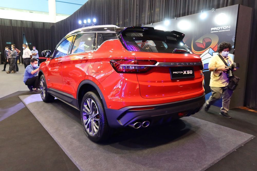 Is There A Way To Get Your Proton X50 Faster We Find Out Rear View