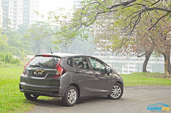 Review Honda Jazz Sport Hybrid There's No Boot Space Rear Three Quarter