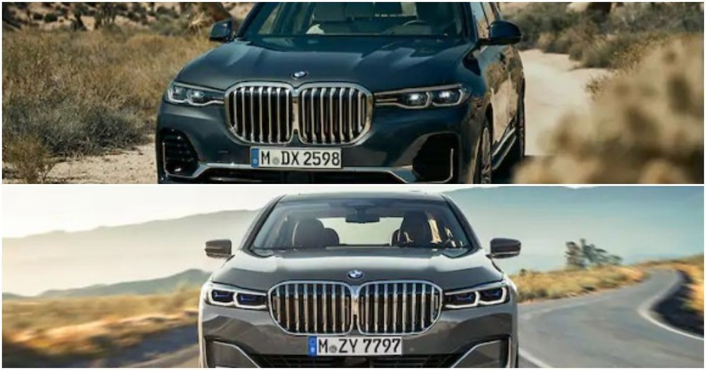 BMW X7 and 7-Series