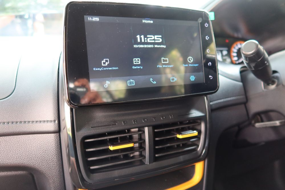 2020 Proton Saga 35th Anniversary Edition Android Radio