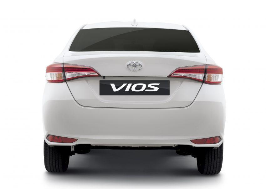 Toyota Vios 2020 Rear View