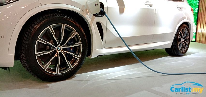 BMW X5 xDrive45e M Sport PHEV Charger