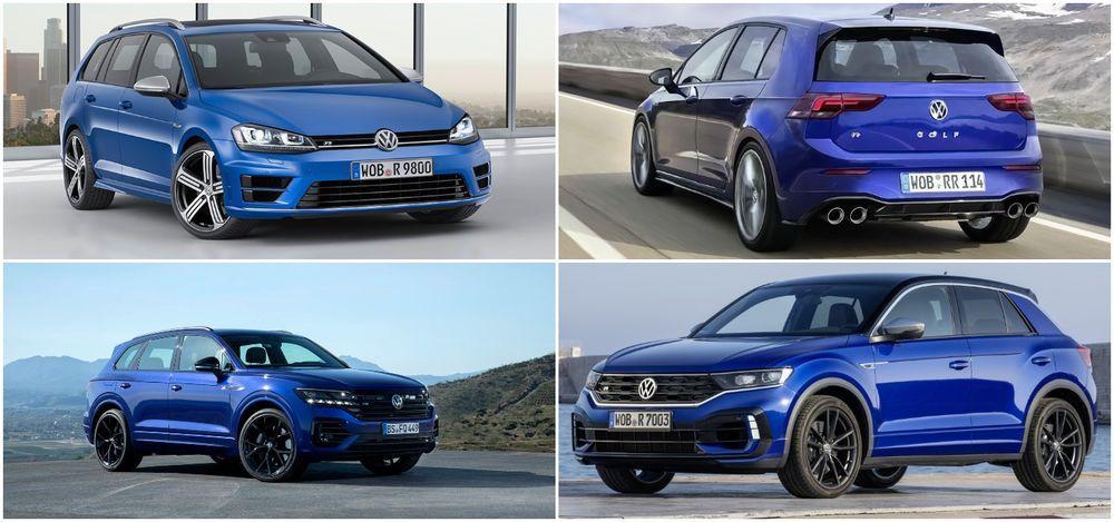 Volkswagen R line up