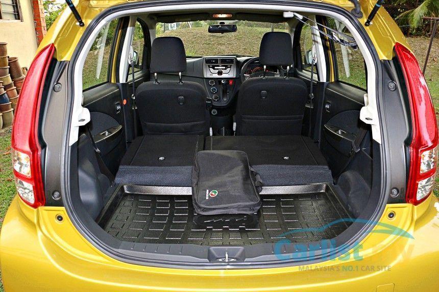 Perodua Myvi interior