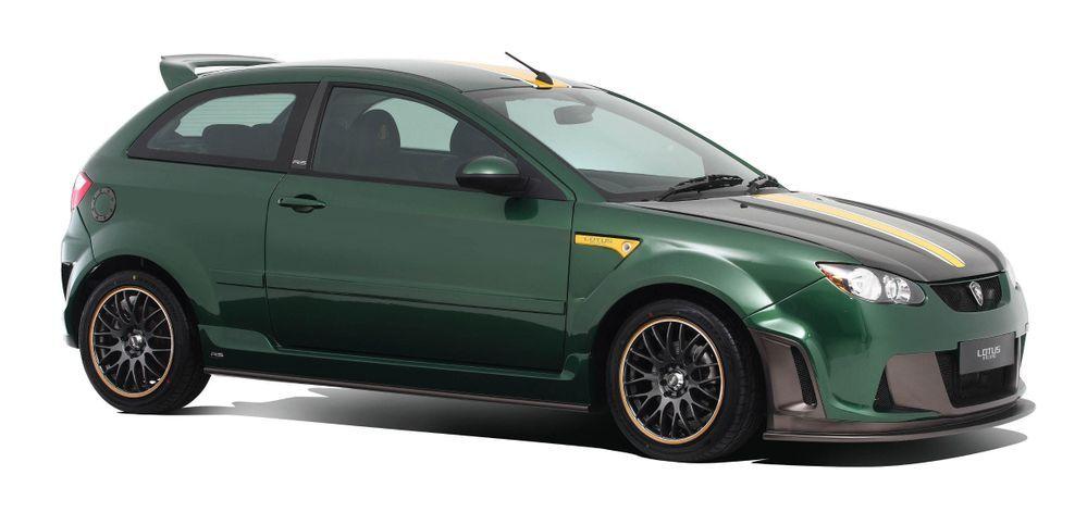 Proton Satria Neo Lotus Racing Edition