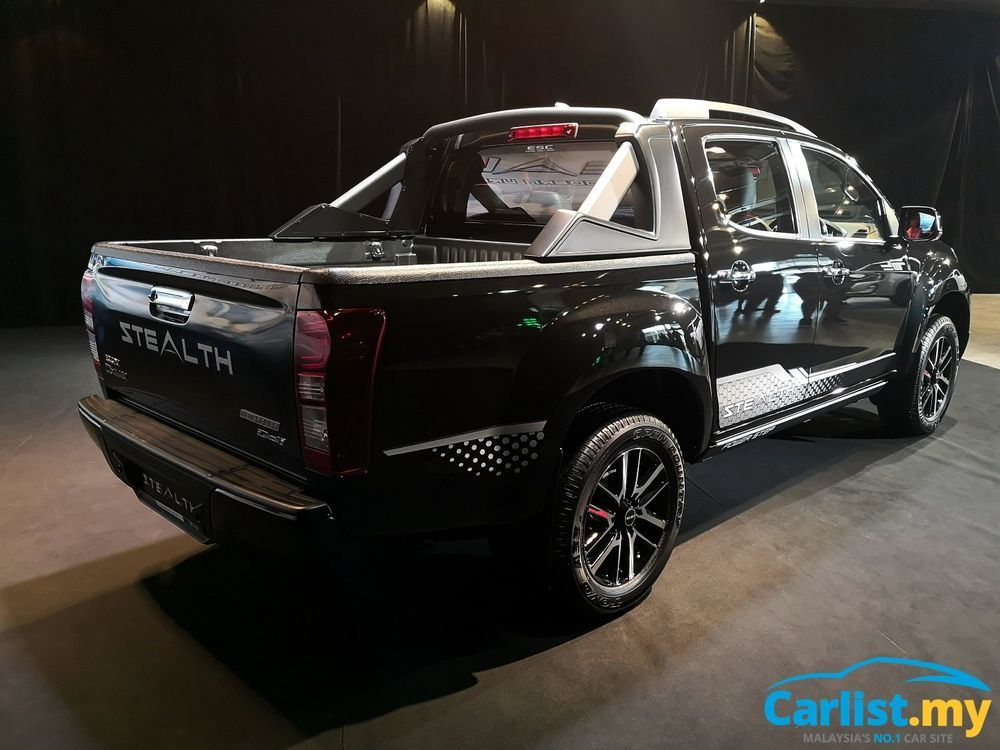 Isuzu D-Max Stealth Edition Rear