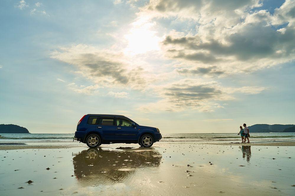 X-Trail beach