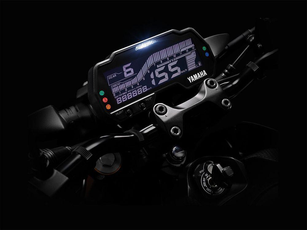 Yamaha MT-15 Dashboard