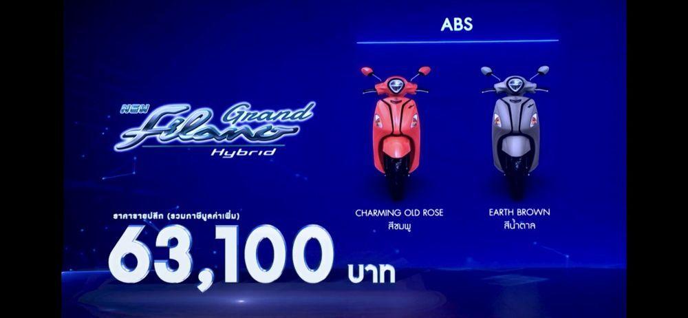 ราคา Grand Filano ABS 2022