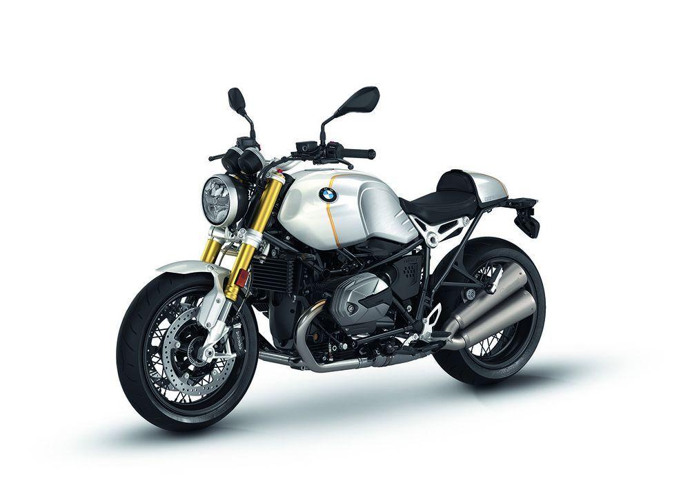 BMW R nineT 2021 Option 719 Mineral White metallic/Aurum