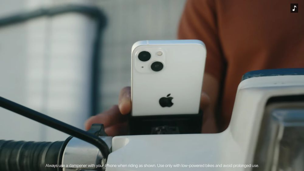 iPhone 13 Motorcycle
