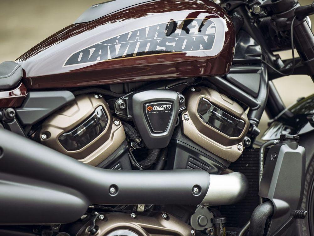 Harley-DavidsonSportster® S Midnight Crimson Engine