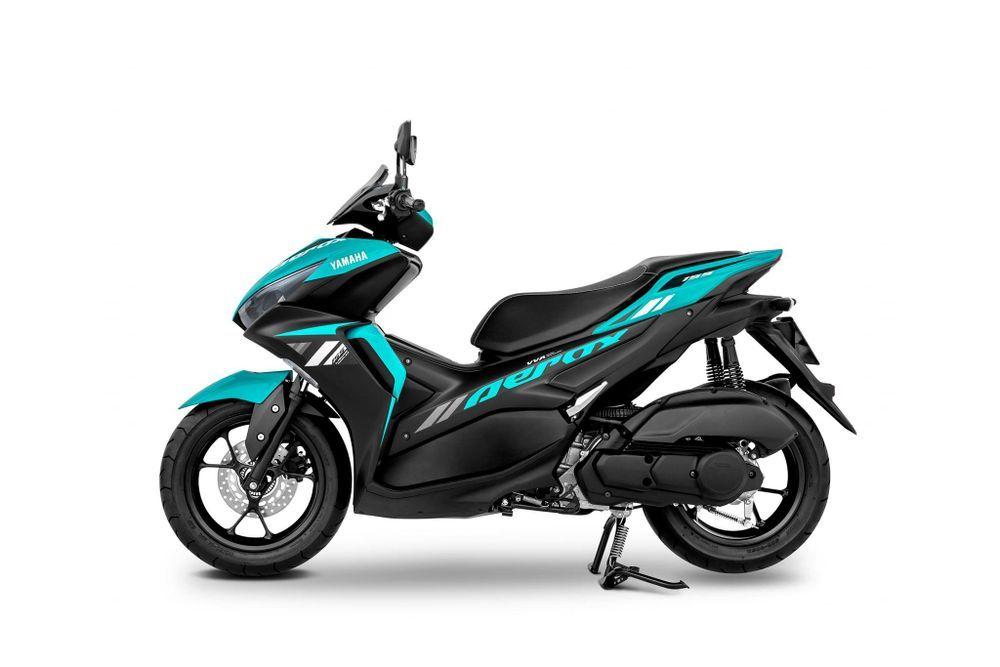 Yamaha Aerox 2021 Cyan