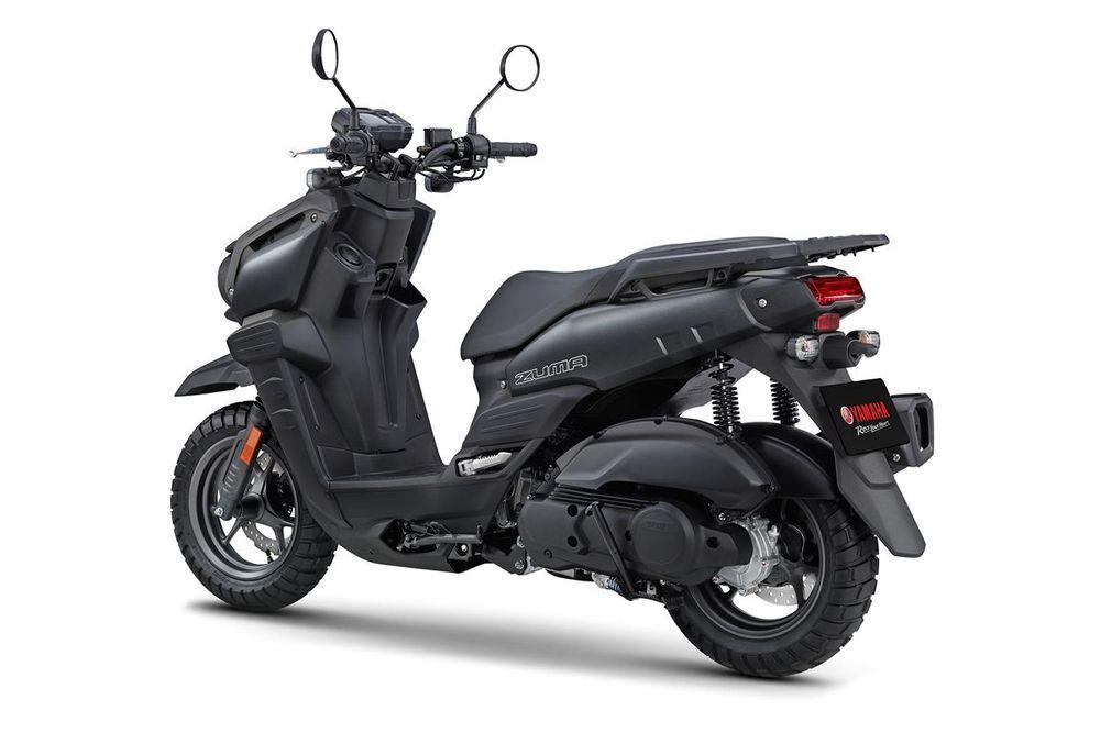 Yamaha Zuma 125 Black