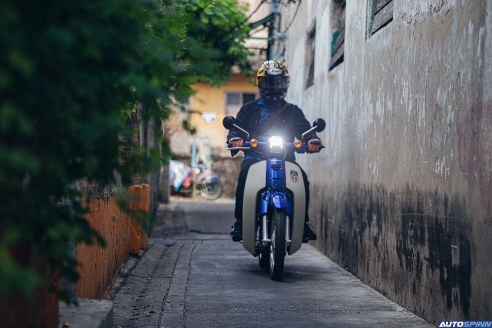 Honda Super CUB Ride Alley