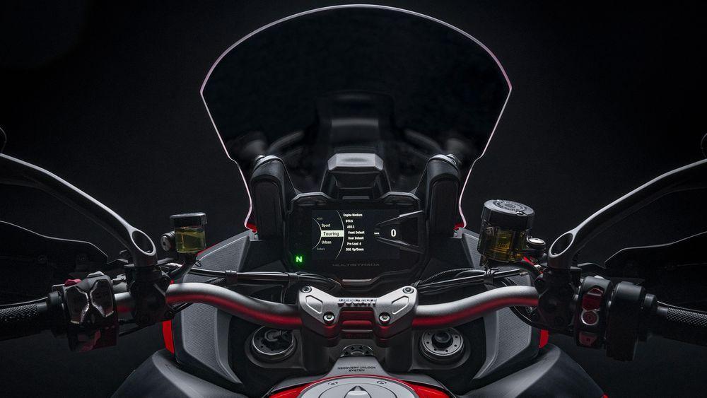 Ducati Multistrada V2 Dashboard