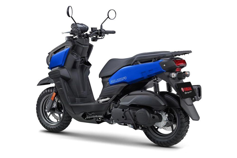 Yamaha Zuma 125 Blue