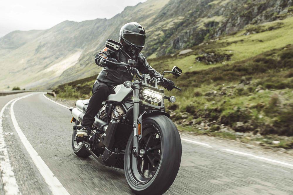 Harley-Davidson Sportster® S Cornering
