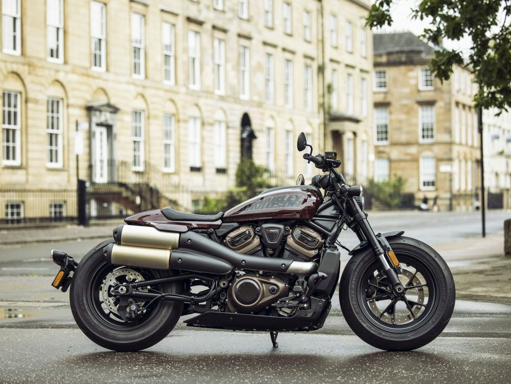 Harley-DavidsonSportster® S Midnight Crimson Right