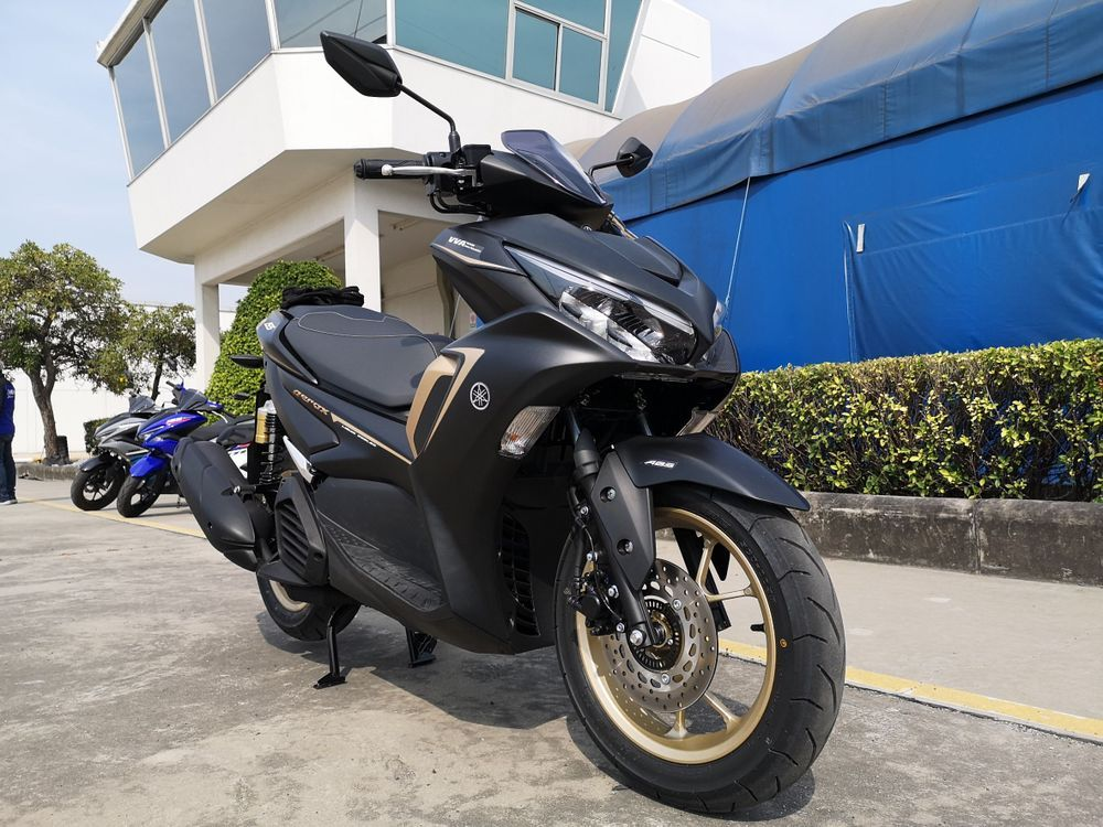 Yamaha Aerox 2021 ABS Black