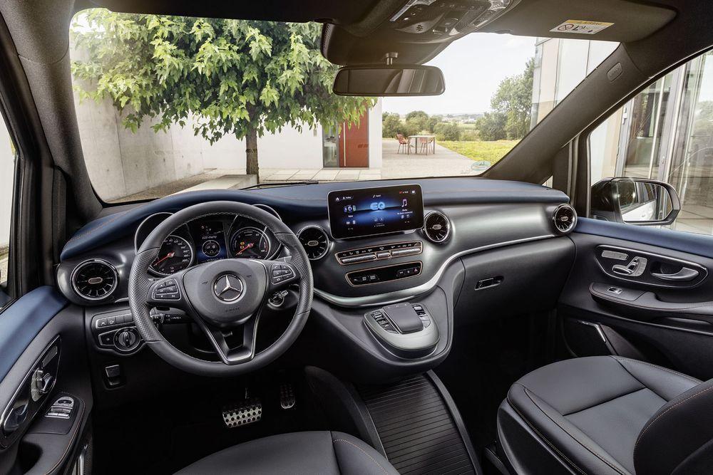 EQV Driver Interior