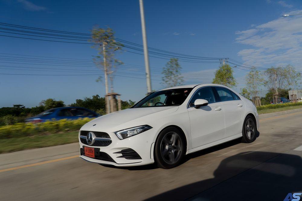 เทคโนโลยีความปลอดภัย Mercedes Benz A200 AMG Dynamic