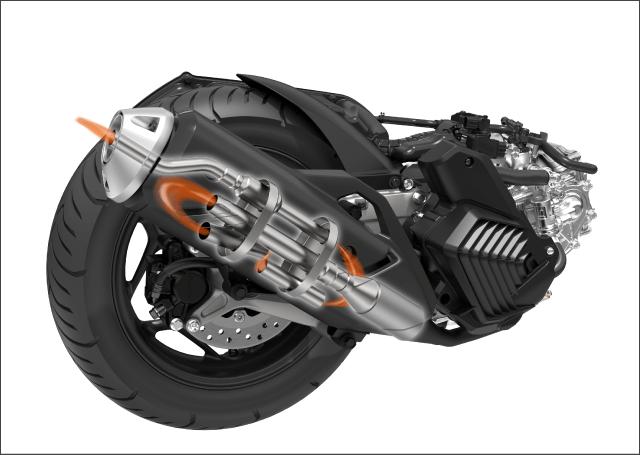 Honda PCX160 Exhaust