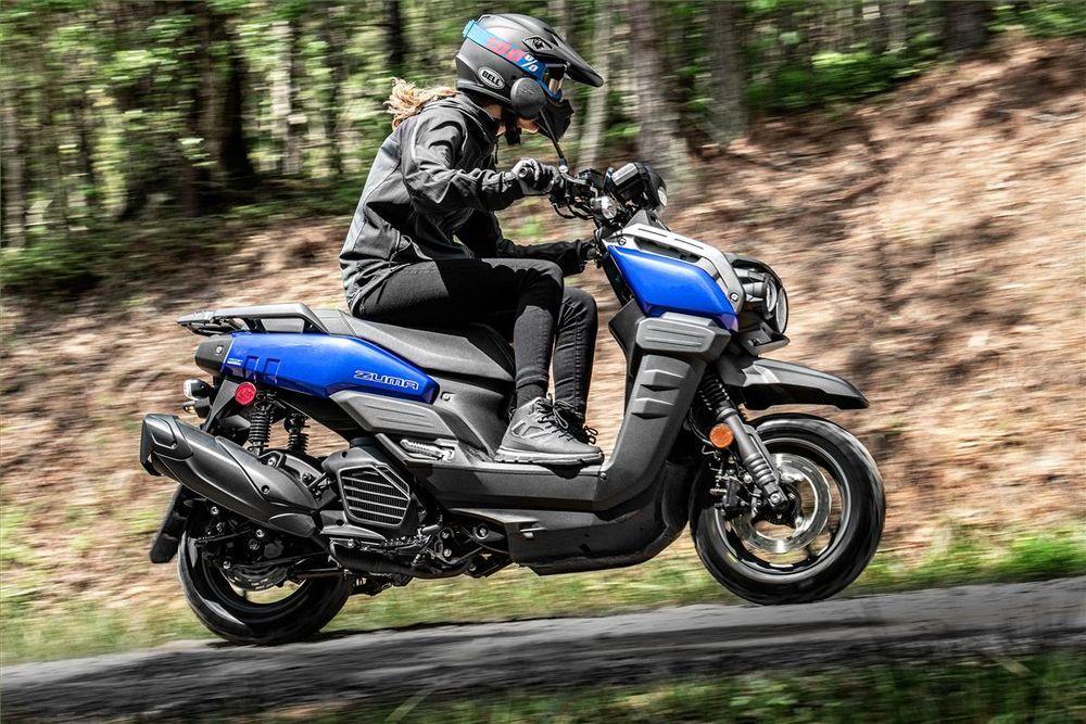 Yamaha Zuma 125 Riding