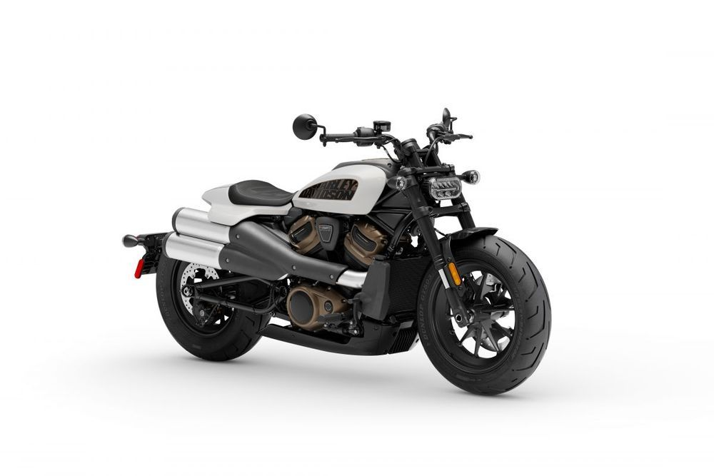 Harley-DavidsonSportster® S Stone Washed White Pearl