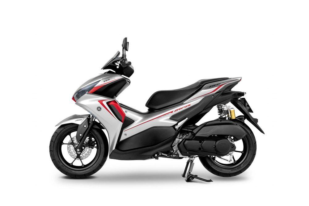 Yamaha Aerox 2021 ABS Silver