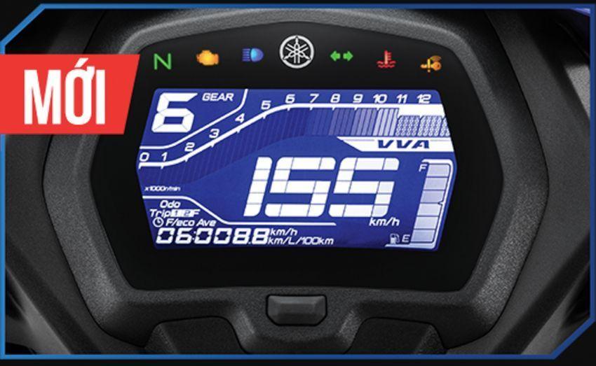 Yamaha Exciter 155 Dashboard