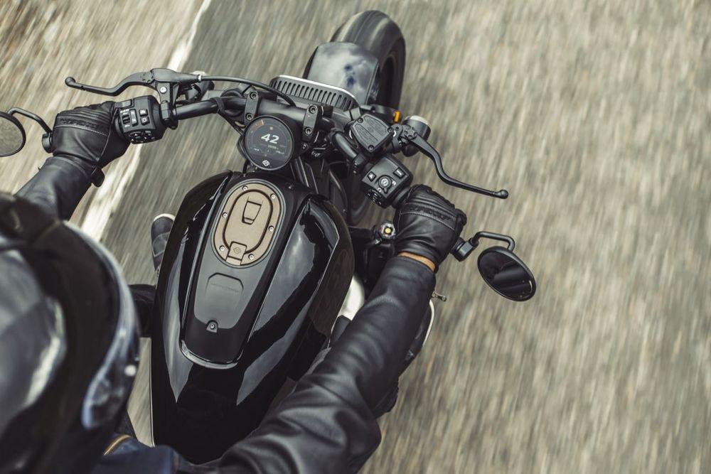 Harley-DavidsonSportster® S Dashboard