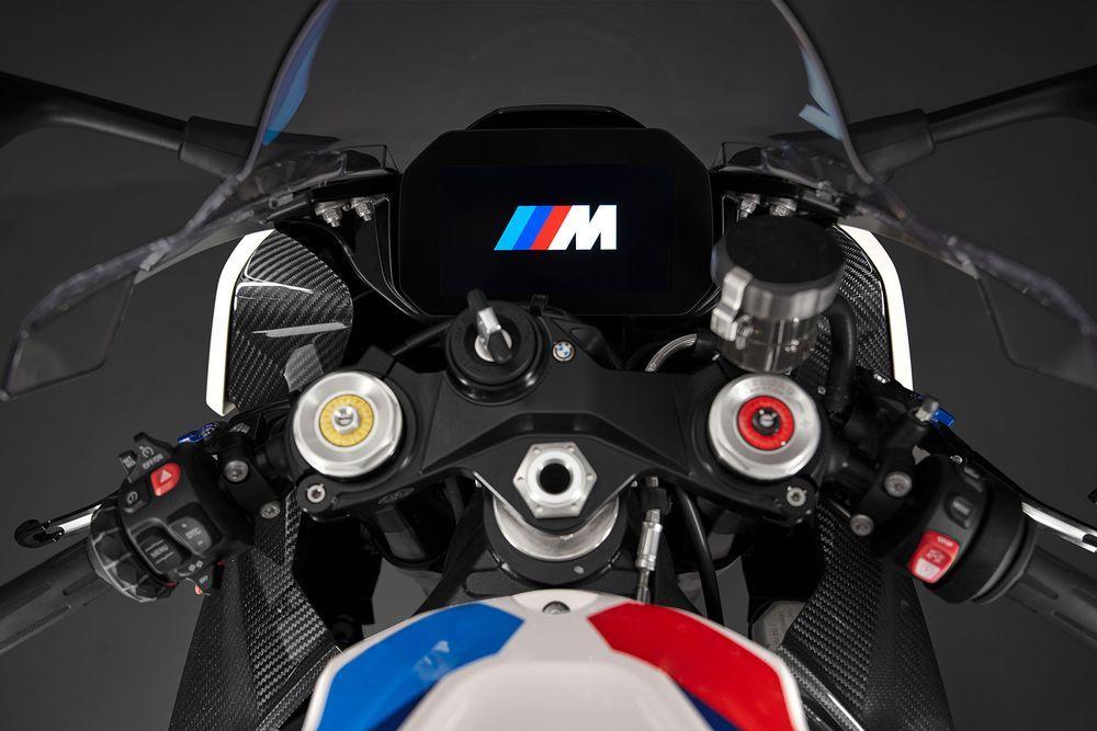 BMW M1000RR Dashboard