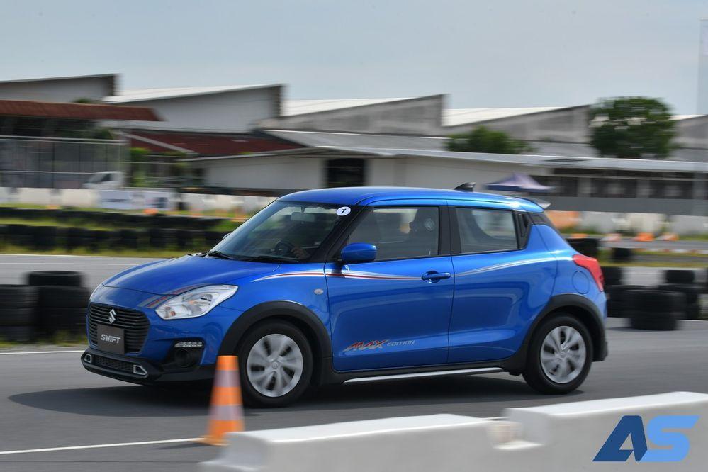 อัตราเร่ง Suzuki Swift