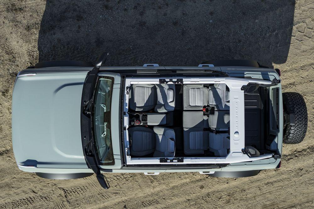Ford Bronco 2 ประตู 2021