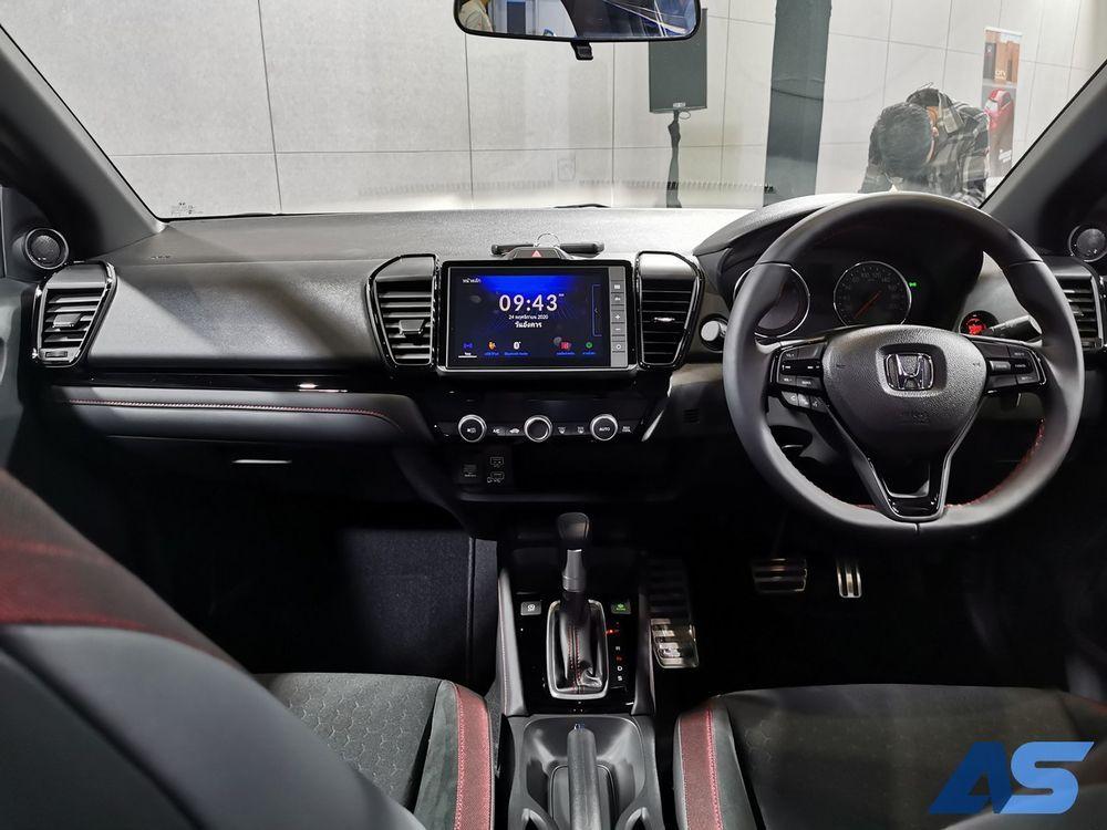 ภายใน Honda city hatchback 2021