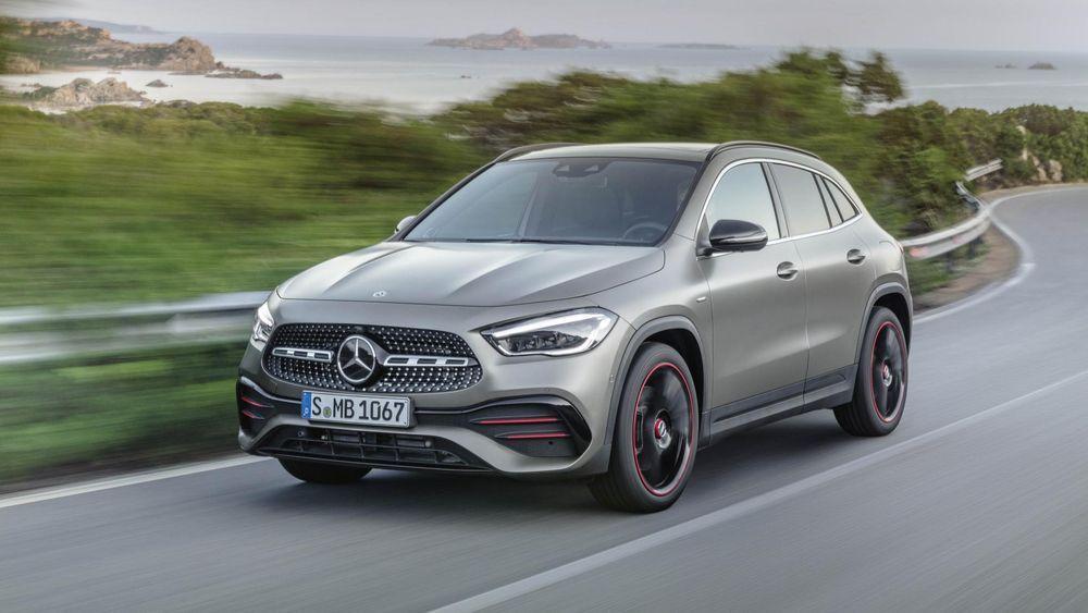 All new Mercedes-Benz GLA