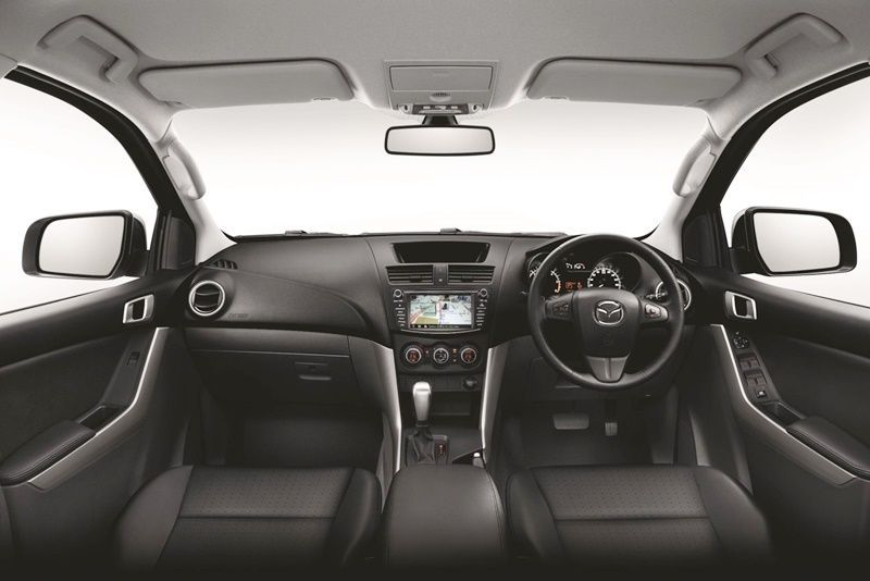 ภายใน Mazda bt 50