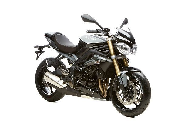 Triumph Street Triple 675 - 8 Ball custom - Black/Grey