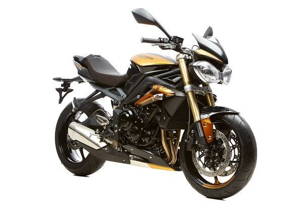 Triumph Street Triple 675 - 8 Ball custom - Black/Gold