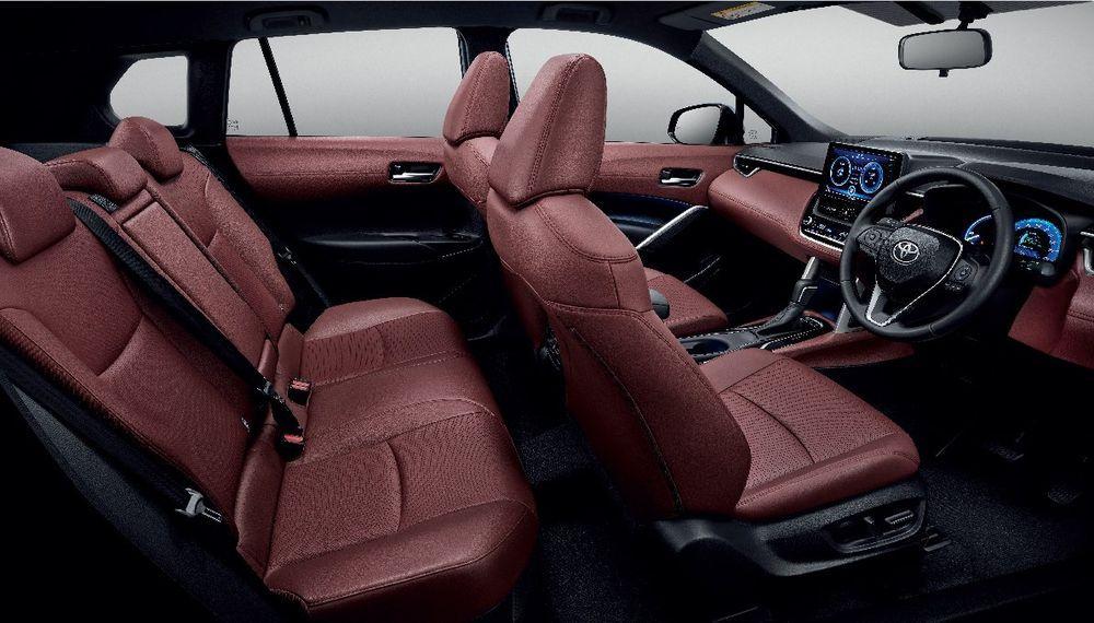 ความสะดวกสบาย ToyotaCorolla CROSS