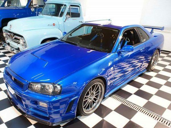 ประกาศขาย! Nissan Skyline GT-R R34 จากหนัง Fast & Furious 4 - ข่าวใน