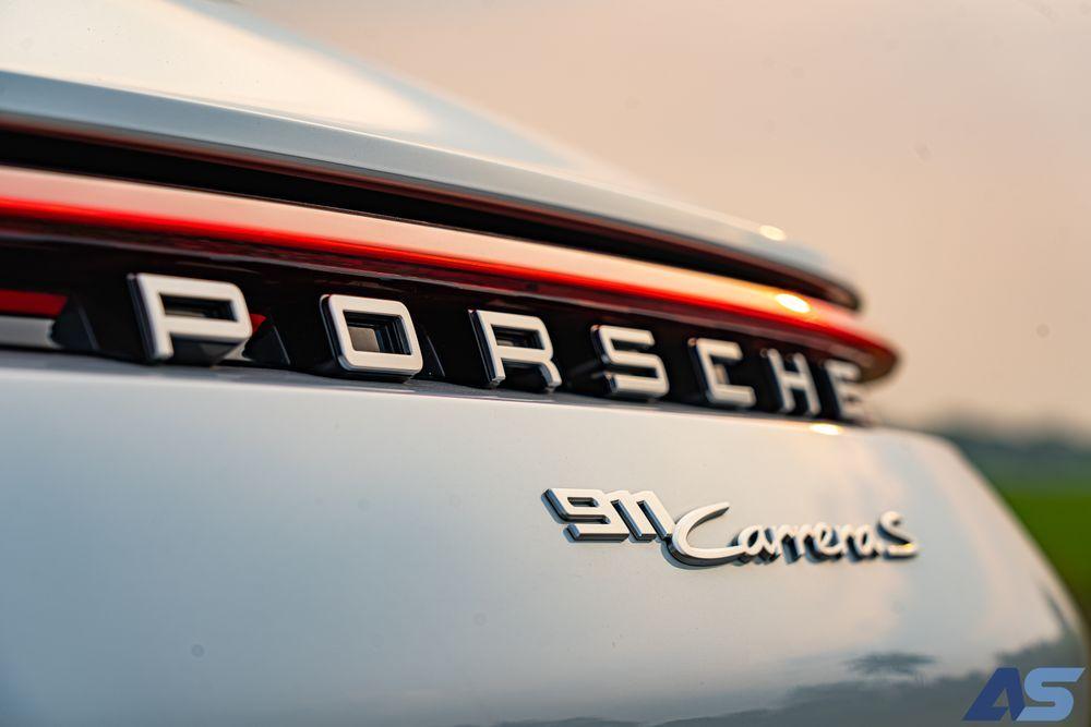 Porsche 911 Carrera S logo