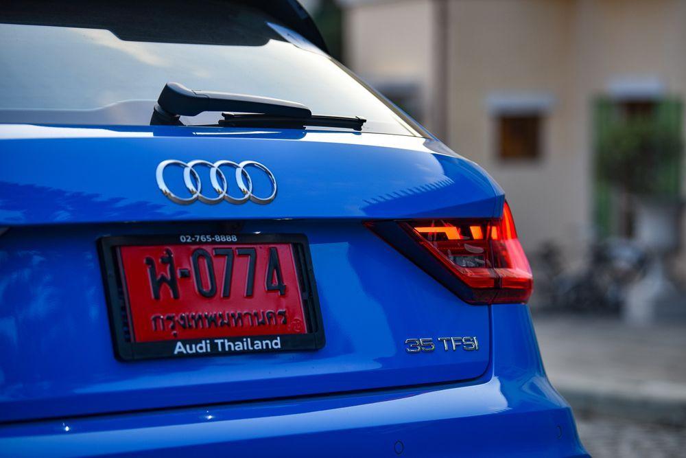 เปิดตัว The New Audi A1 Sportback