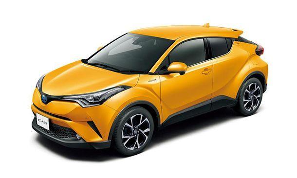 Toyota C-HR ราคาเริ่มต้น 9 แสนบาท